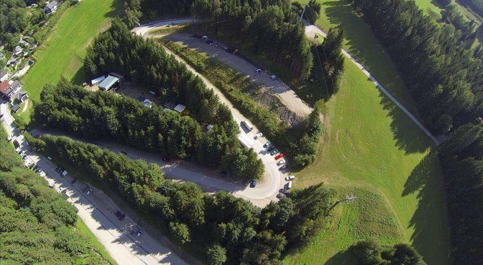 Kaltenbach Open Air von oben