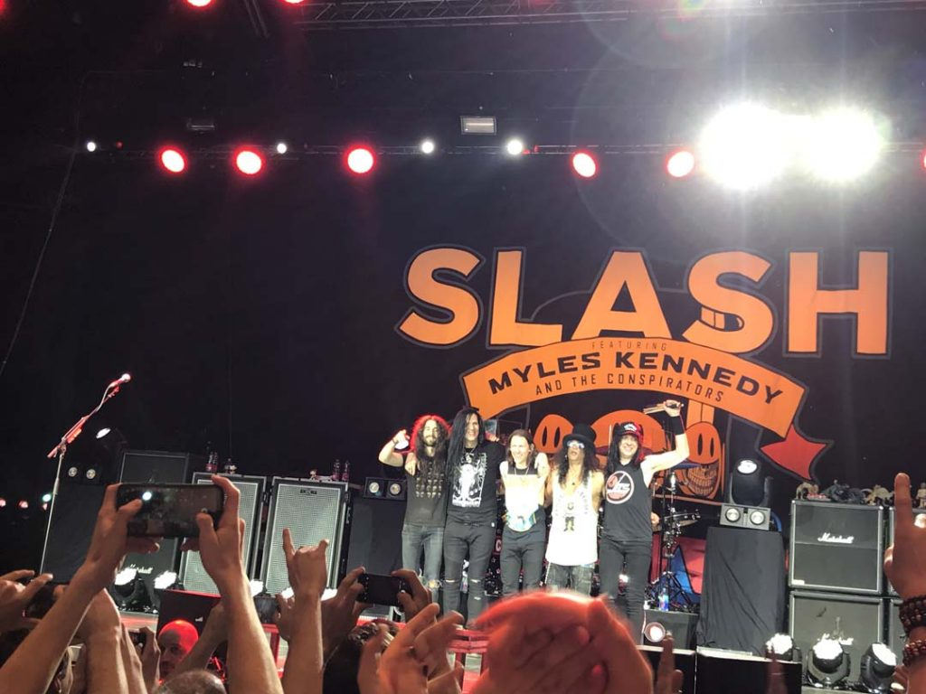 Slash feat. Myles Kennedy and the Conspirators Gasometer Wien