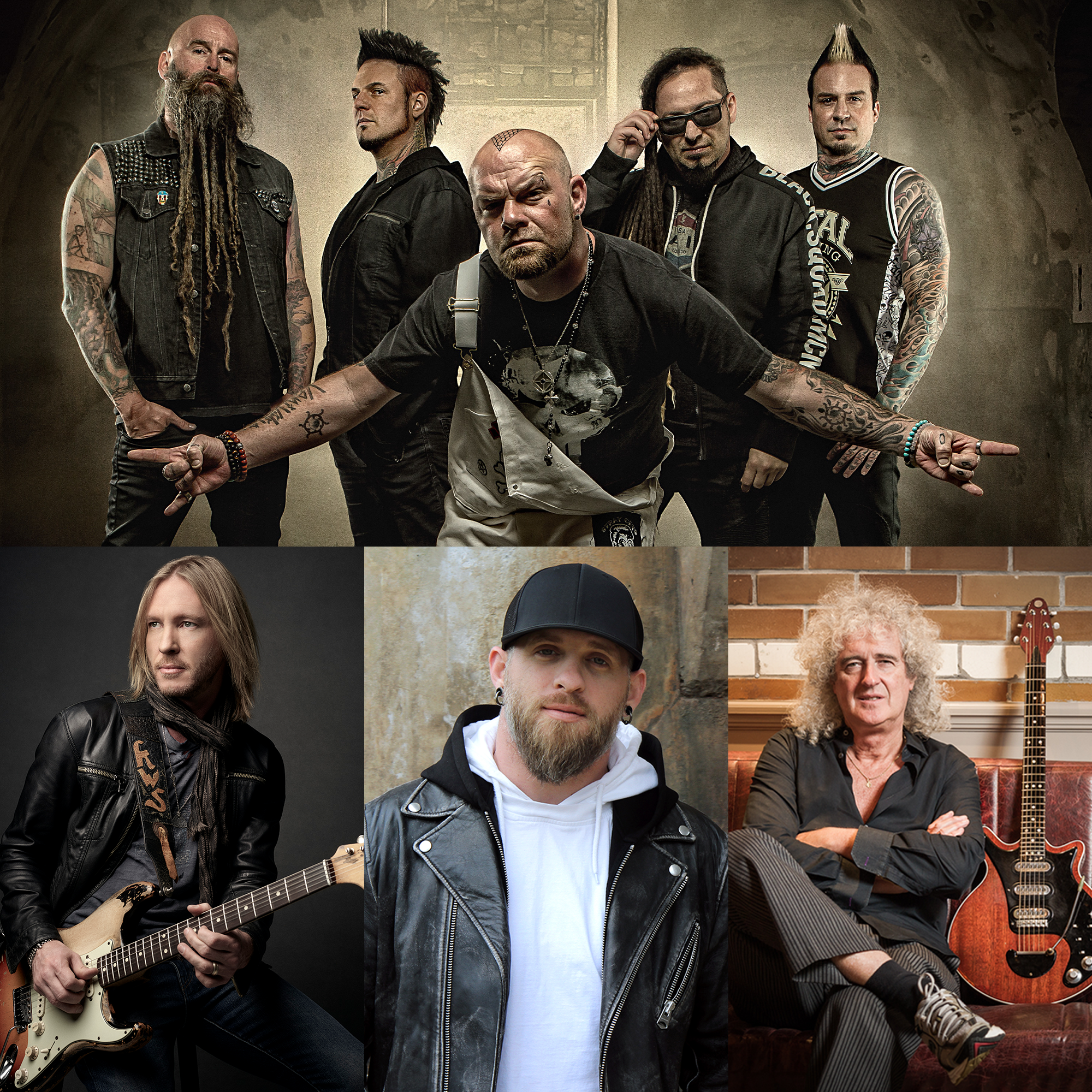 five-finger-death-punch-brian-may-brantley-gilbert-kenny-wayne-shepherd-praesentieren-gemeinsames-video
