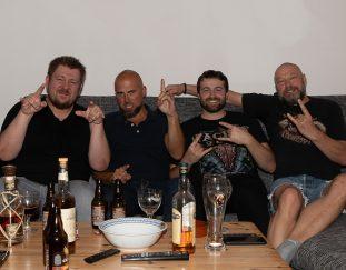 Roland im Interview mit Leonic, eine Hammer Melodic-Rock/Metalband aus München