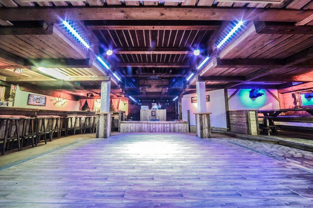 Die Tenne in Leoben wurde gerade als Veranstaltungsraum umgebaut.