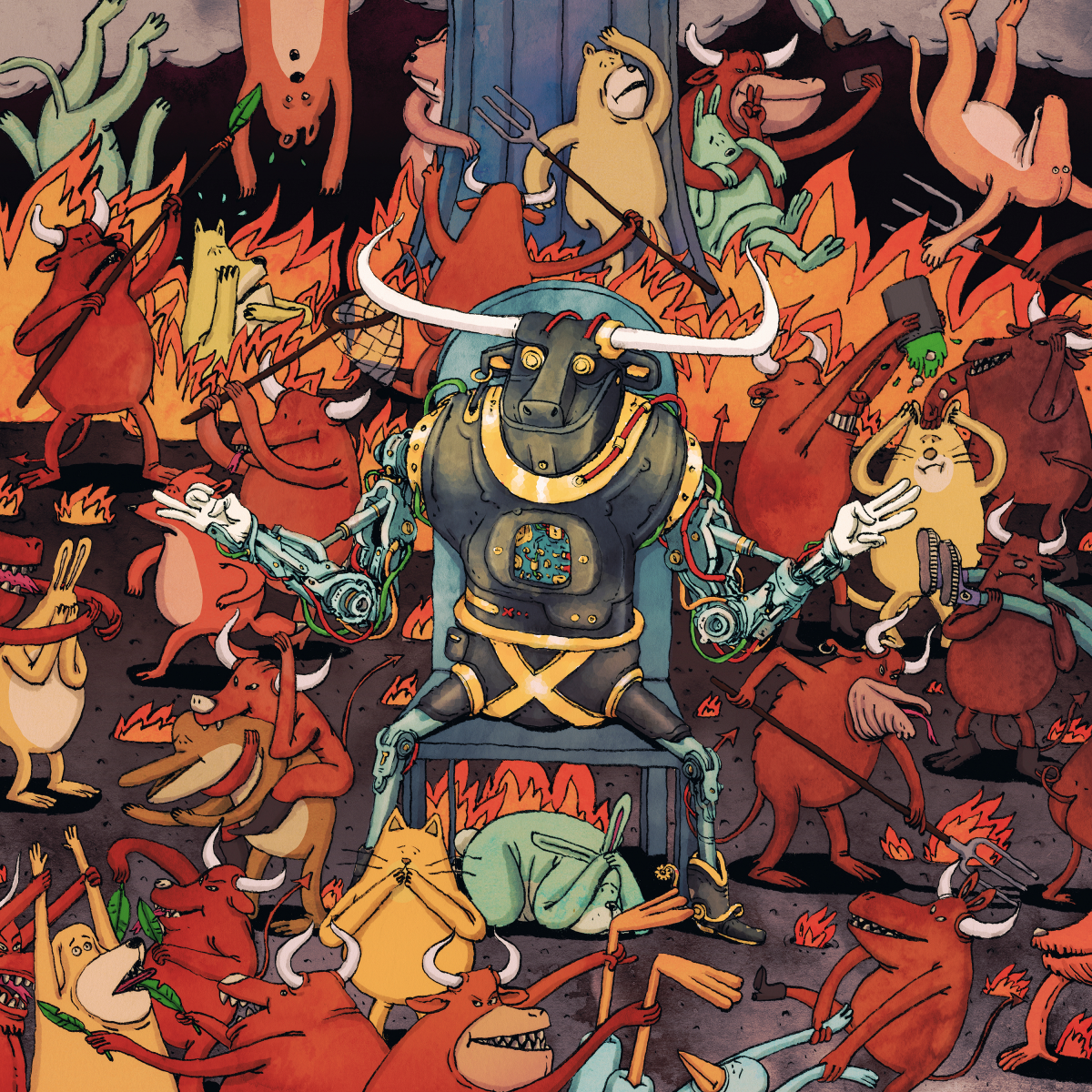 dance-gavin-dance-afterburner-ein-ohrenschmaus-album-review