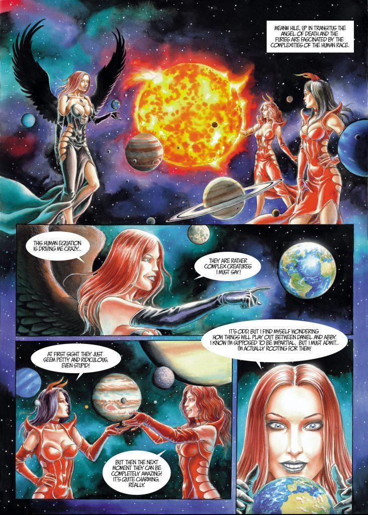 Auszug aus dem Comic