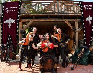 Corvus Corax sind am 25.9.20 mit einem Akustik Best of Program in der Bonner Harmonie