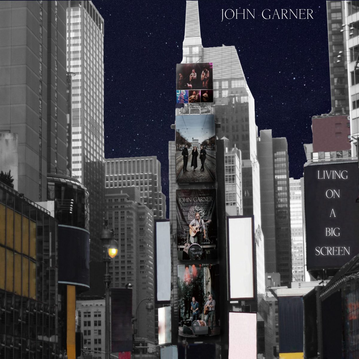 john-garner-living-on-a-big-screen-single-review-video-premiere